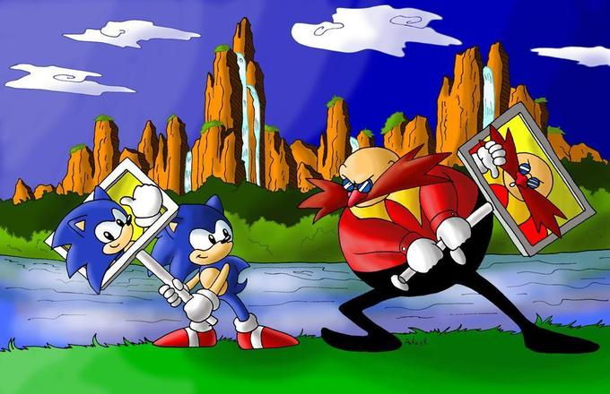 Sonic vs. Eggman - The Epic battle