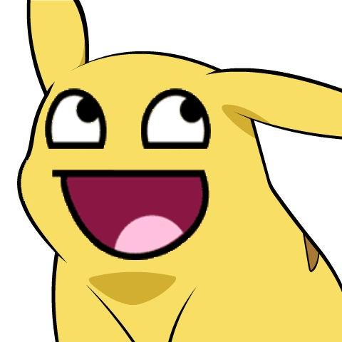 Awesome Face Pikachu