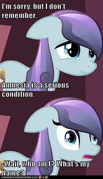 Amnesiac Crystal Pony (What's My name?)