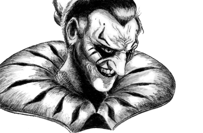 Kefka by ElectronicSamurai
