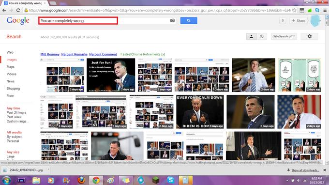 Google Hates Mitt