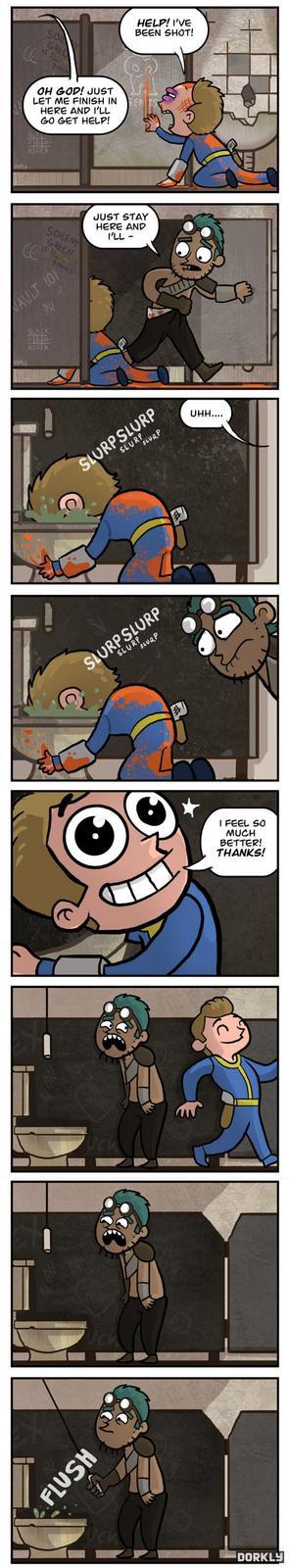 Fallout Bathroom Break