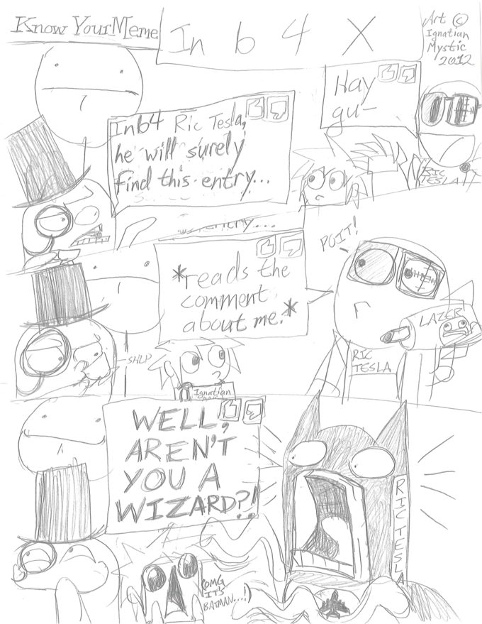 Ric Tesla meets A WIZARD...
