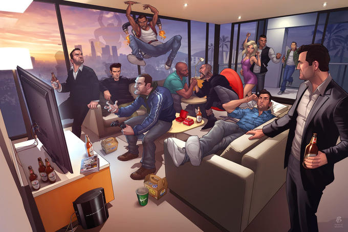 Grand Theft Legends