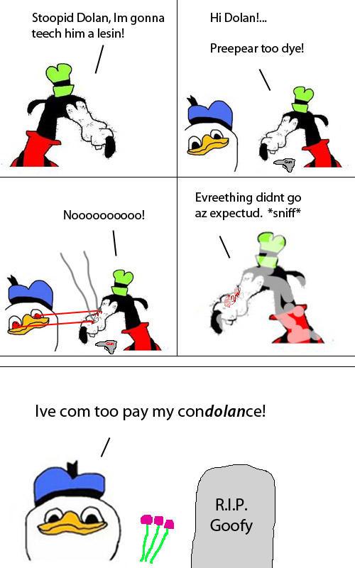 Gooby Versus Dolan