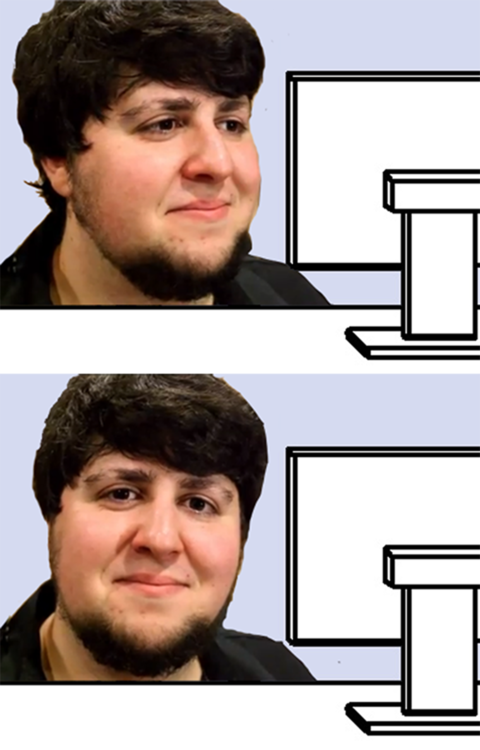 Image result for jontron face meme