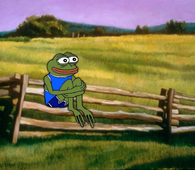 Happy Sad Frog