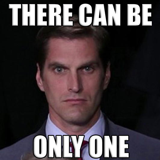 Menacing Josh Romney only one