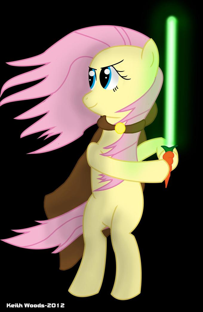 Jedi Fluttershy