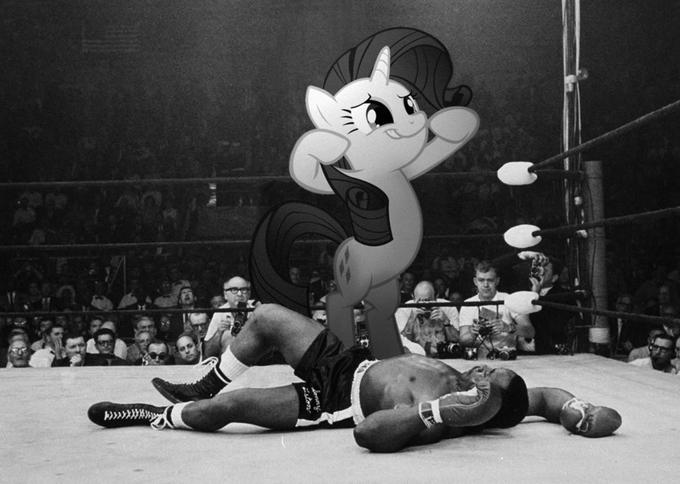 Rarity and Sonny Liston