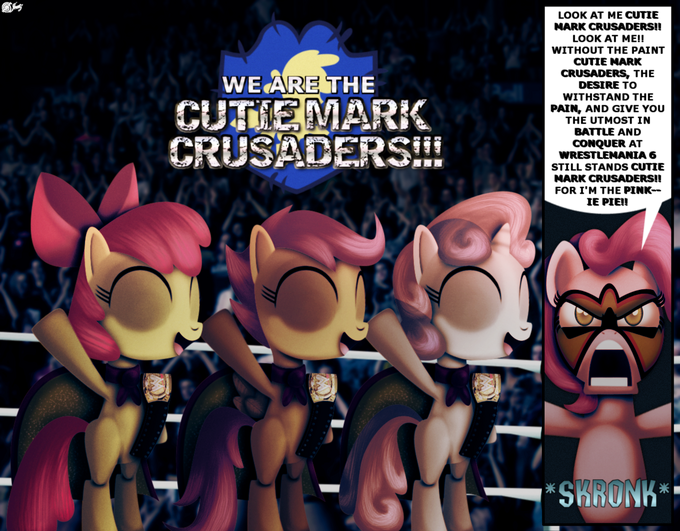 Cutie Mark Crusaders WWE