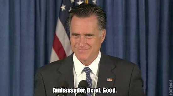 Ambassador. Dead. Good.