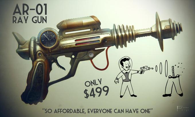 Fallout Ray Gun