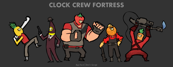 Team Clock Crew Fortress