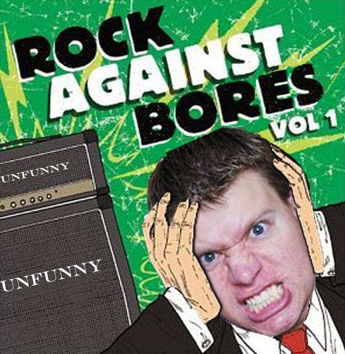 """Rock Against Bores"" by PanicPagoda"