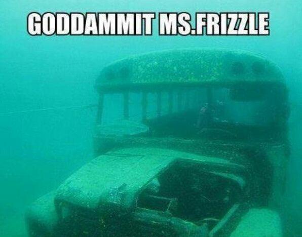 Goddamint Ms.Frizzle