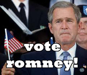 George W. Bush Vote Romney 2012 Elections