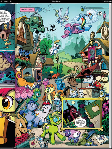 MLPFIM#1 iTunes Preview pg 3
