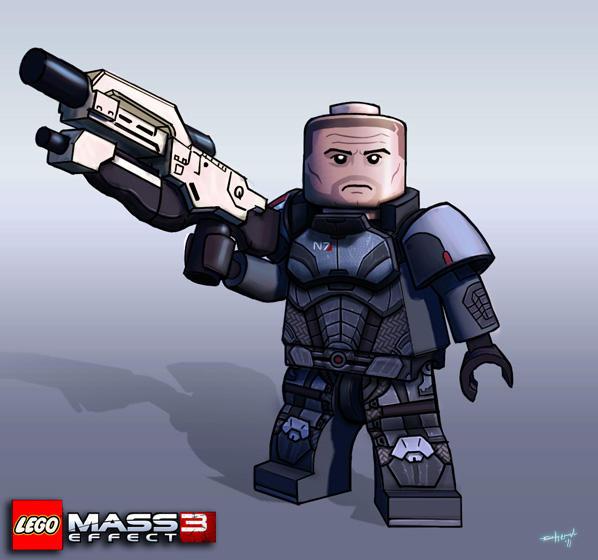 Lego Shepard