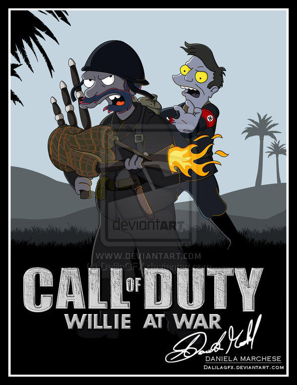CALL OF DUTY : WILLIE AT WAR