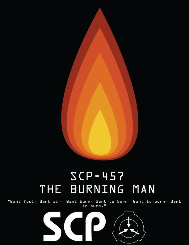 SCP 457 poster