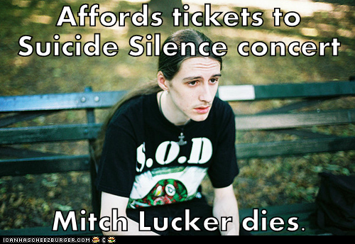 Rest In Peace, Mitch Lucker,