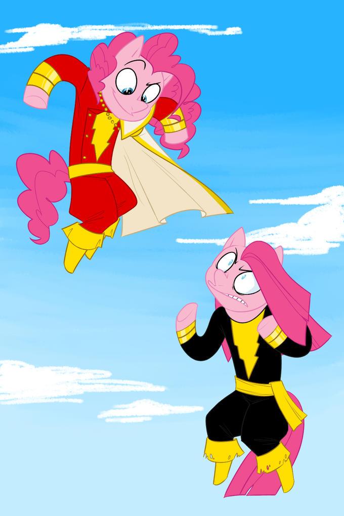 Captain Pie VS Black Diane