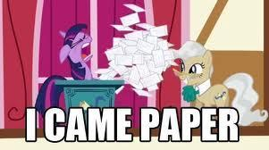 I Came Paper
