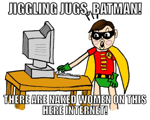 Robin Discovers the Internet