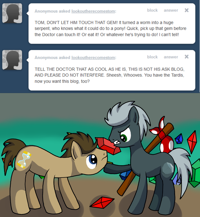 Adventures of Tom the Rock: Dr Whooves part 2