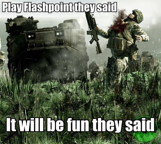 Play Flashpoint they said