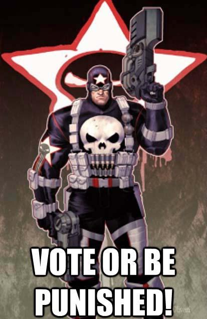 vote or be punished!