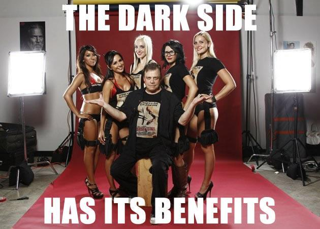 The Dark Side Has Its Benefits