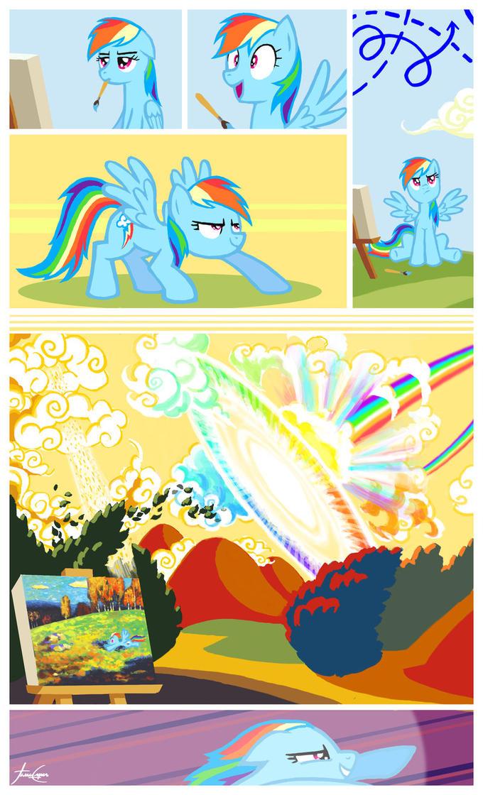 Rainbow Kandinsky
