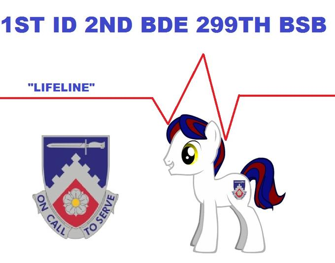the daughter of my battalion's chaplain loves mlp, she was happy to hear of a brony among the ranks of soldiers her father works with so I made this for her
