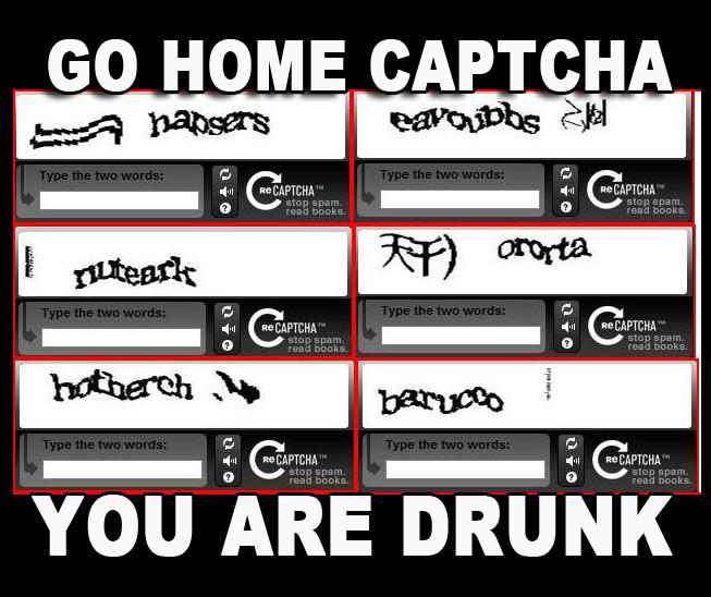 Go home Captcha