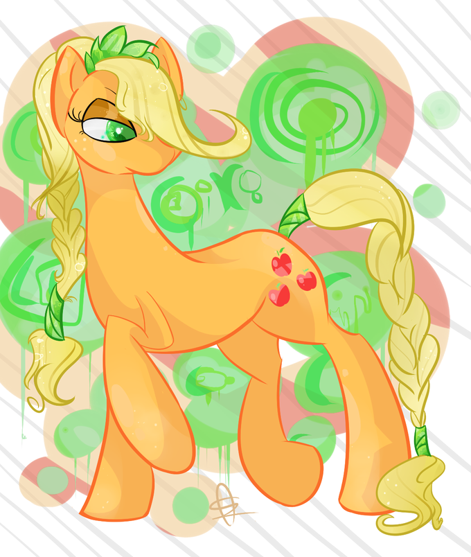 Crystal applejack
