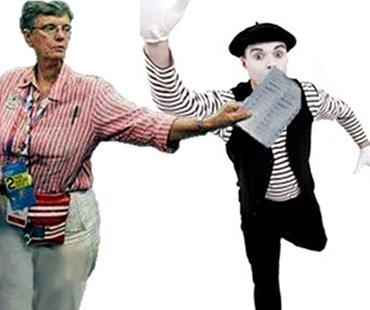 Silence the Mime