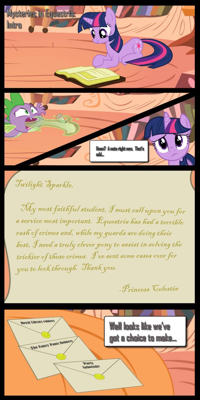 Mysteries of Equestria: Intro