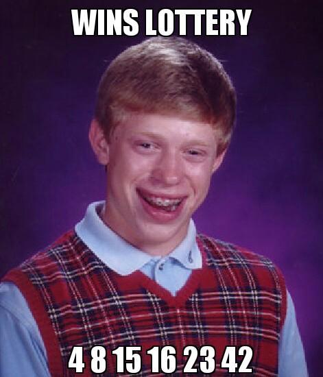 wins lottery