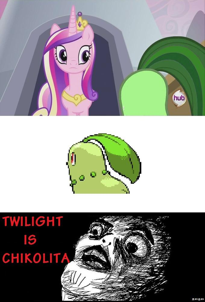 Twilight is Chikorita