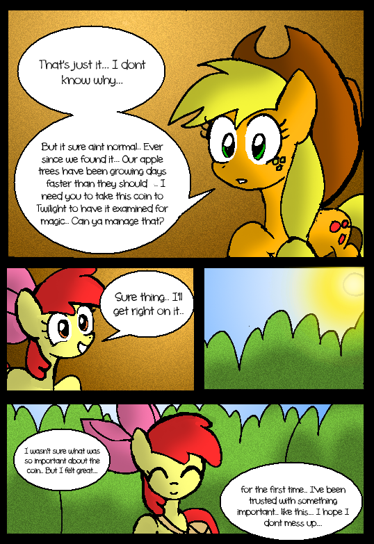 Apple Bloom's Tree: Page 3