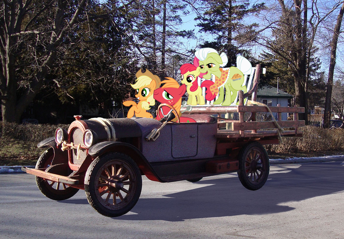 The Ponyville Hillbillies
