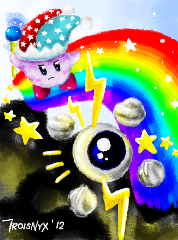 Mirror Kirby vs Kracko Junior