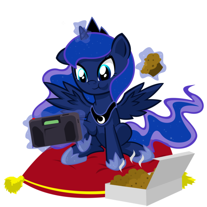 Retro Gamer Filly Luna