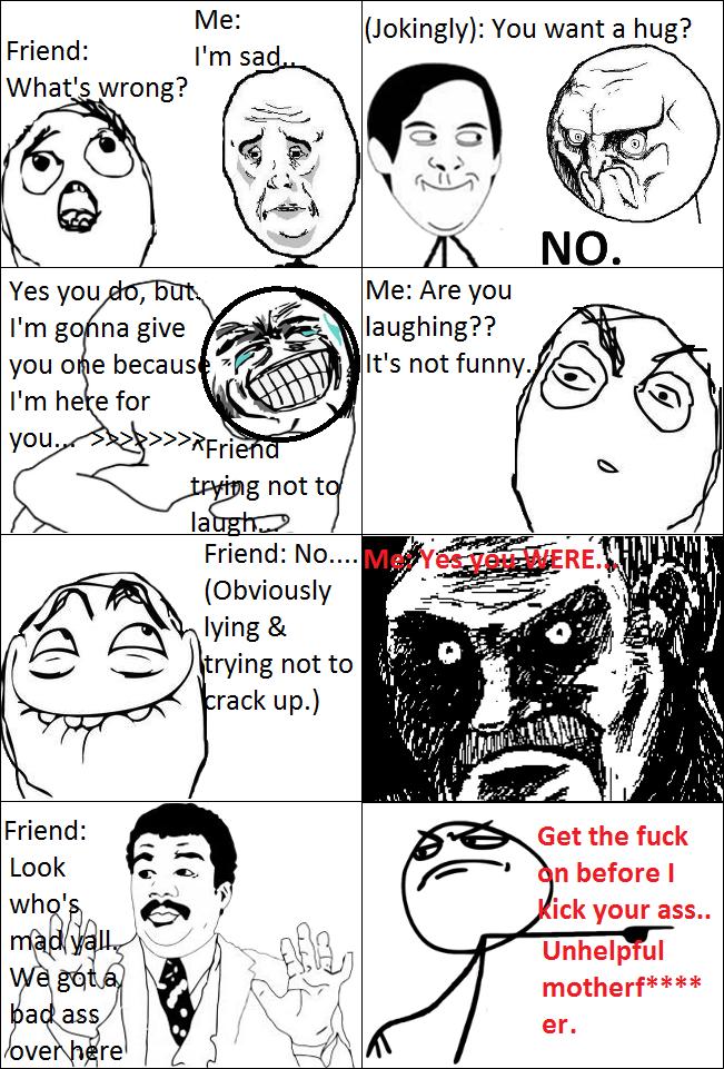 Unhelpful Friend