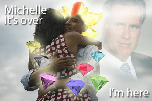 Obama got all 7 chaos emeralds!!
