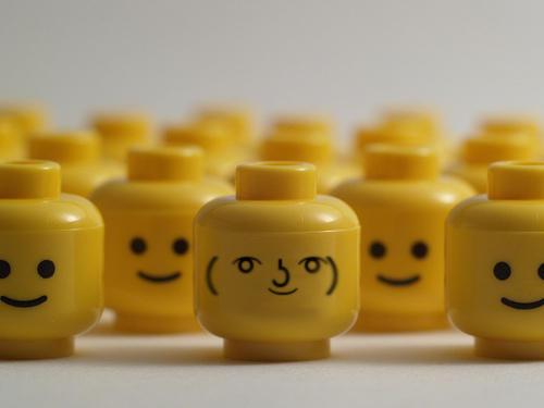 These Lego Heads Seem Strange