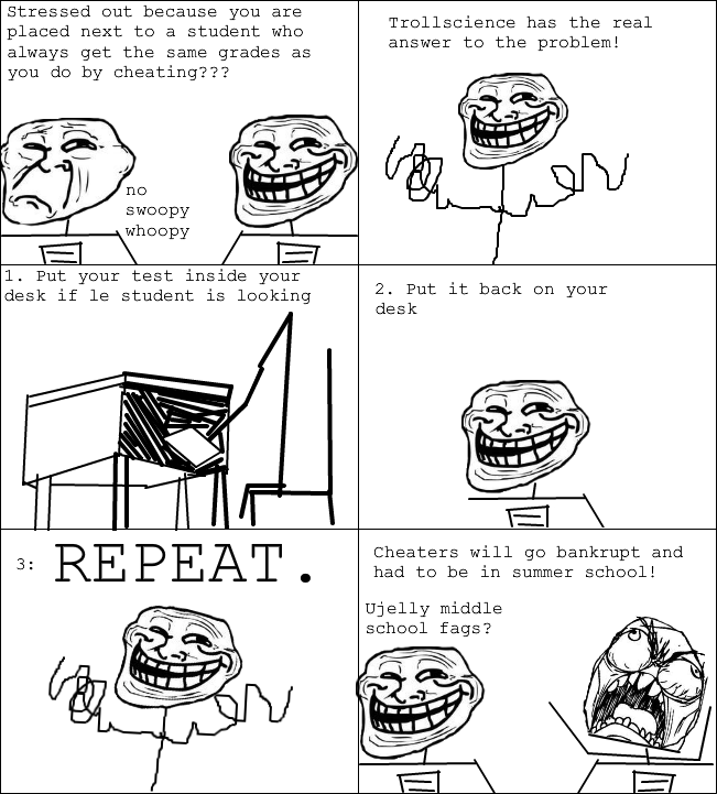 Solution to Mid. School Cheating