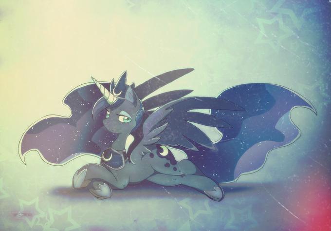 Luna's new look